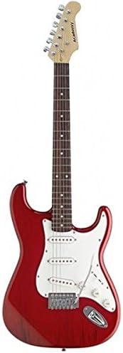 GUITARRA ELECTRICA-Academy Tipo Stratocaster 602 Roja: Amazon.es ...