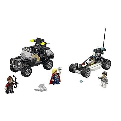 LEGO Superheroes Avengers Hydra Showdown: Toys & Games