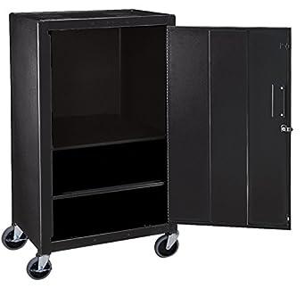 LUXOR MC42E Steel Mobile Cabinet 42u0026quot; ...