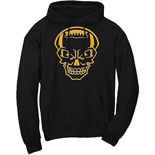 Xtreme Pittsburgh Skull Hoodie Sweatshirt (XL)