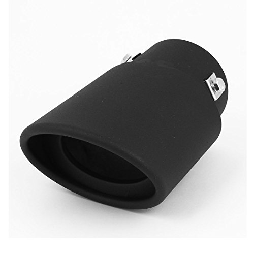 [uxcell 73mm Inlet Slant Tip Straight Exhaust Muffler Pipe] (Straight Inlet)