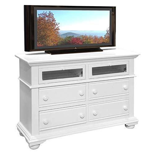 American Woodcrafters Cottage Traditions Entertainment Chest
