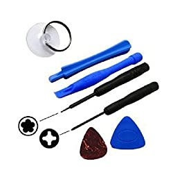 Tools Kit For Iphone 4s & 4g Opening Tool Kit 5 Star Pentalobe Screw Driver (7 Tools) - Assorted Colors
