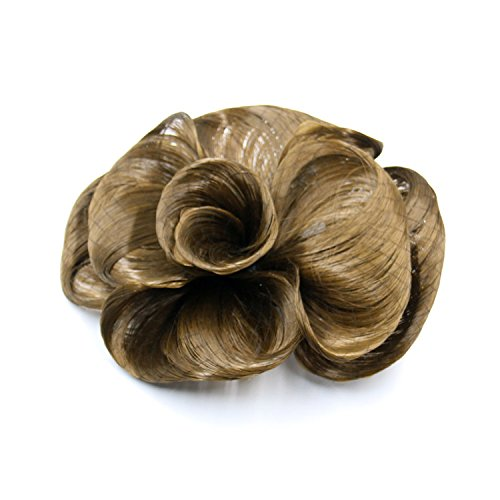 [Simple wig accessories flowers fashion hair wigs, clip hair capitatum mechanism made silk hair] (Simple Cheer Dance Costumes)