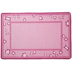 Kids Area Rug, Girls Pink Jewels   Delta Children  Children's Room Carpet