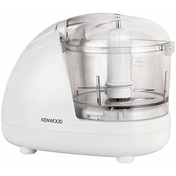 Kenwood CH180A - Picadora, 300 W, 350 ml/ 150 g, 2 velocidades, color blanco: Amazon.es: Industria, empresas y ciencia