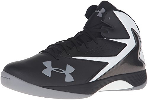 45437d7e5fd Under Armour 1269281-002 Men s UA Lockdown Basketball Shoes 10.5 Black ...