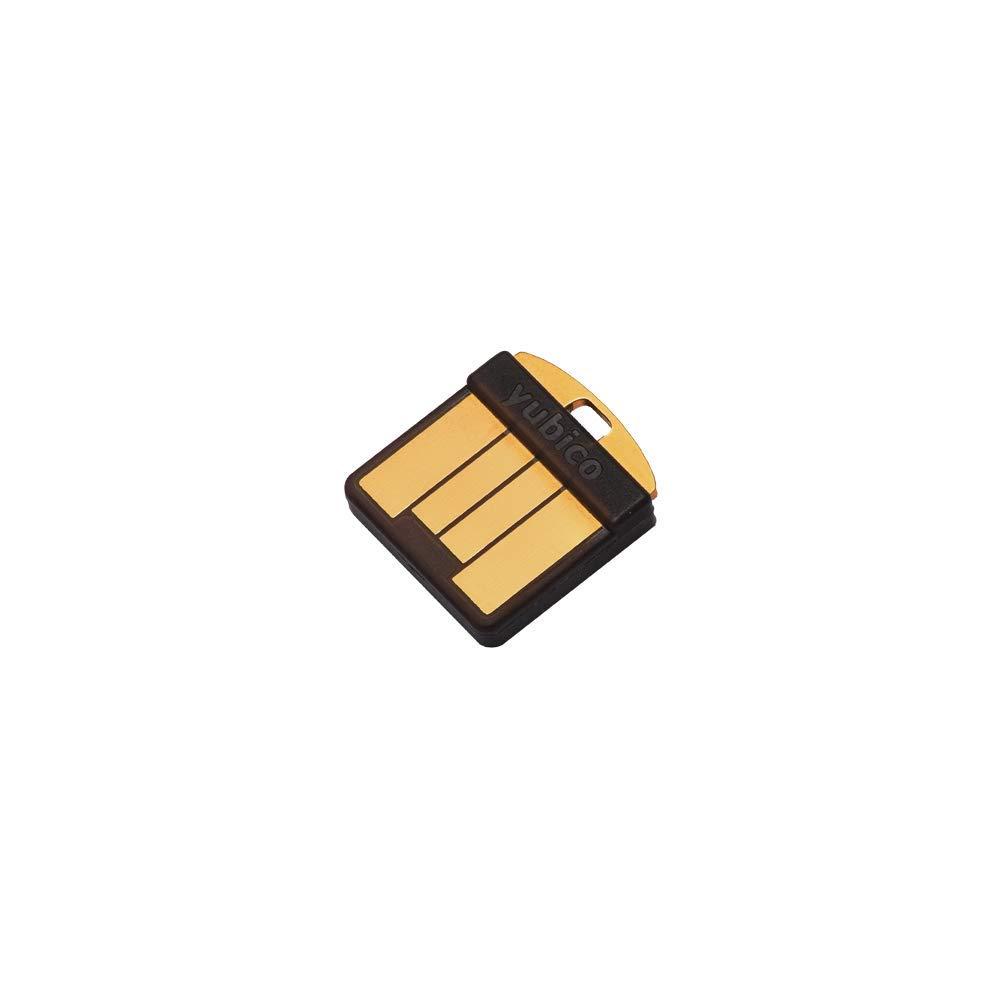 Yubico - YubiKey 5 Nano - USB-A - Authentication Security Key - Black Y-240