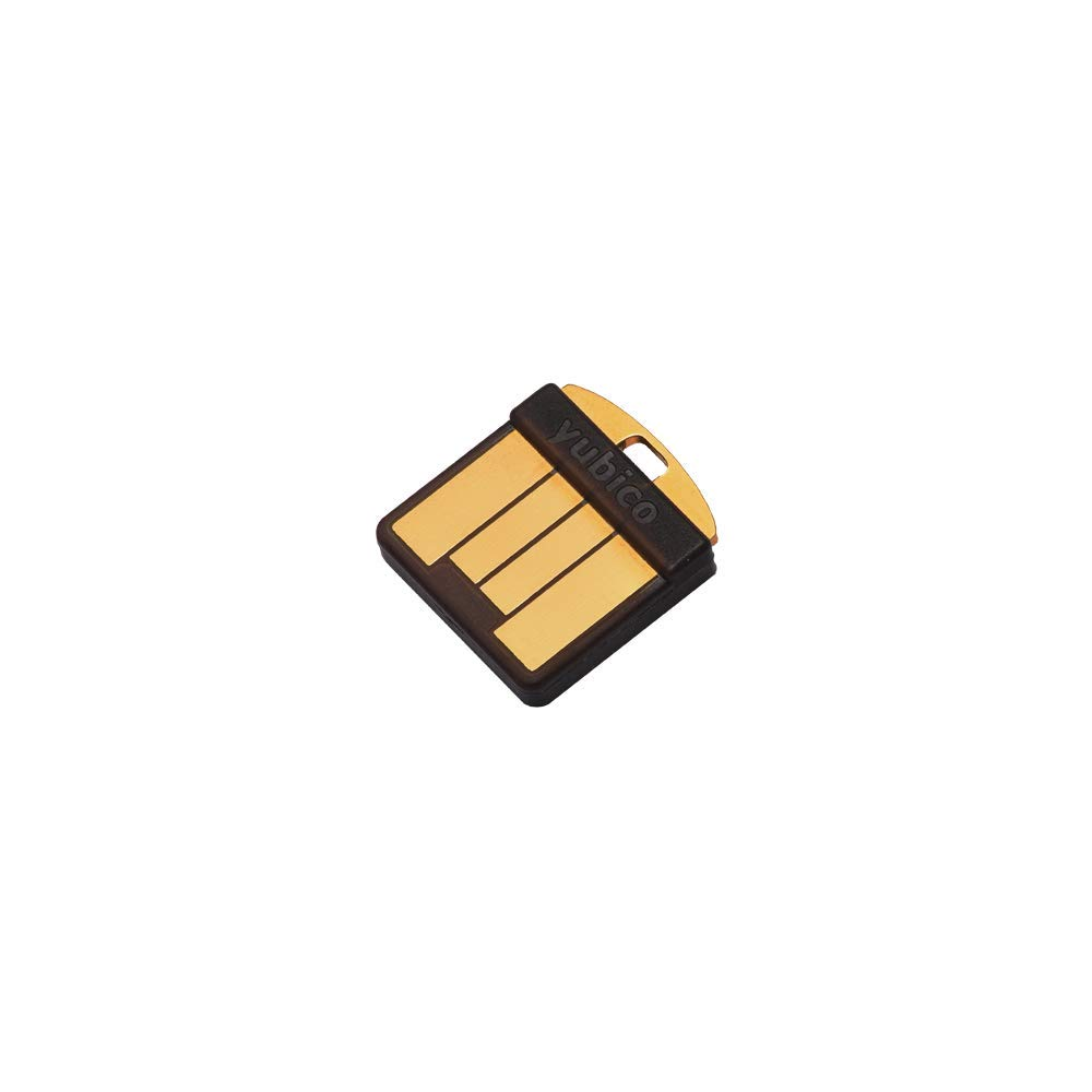 Yubico YubiKey 5 Nano - Two Factor Authentication USB Security Key, Fits USB-A Ports - Protect Your Online Accounts with More Than a Password, FIDO Certified USB Password Key, Extra Compact Size by Yubico