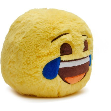[Kids Teens Jumbo Plush Smiley Ball Bank Tears ( Emoji Jumbo Plush Smiley Ball