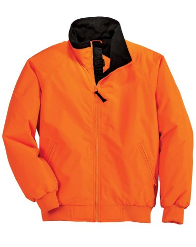 Port Authority Men's Safety Challenger Jacket - Safety Orange/True Black J754S XL
