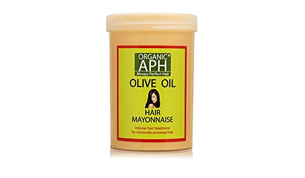 Orgánico APH Tratamiento De Mayonesa Del Pelo Con Aceite De Oliva Puro: Amazon.es: Belleza