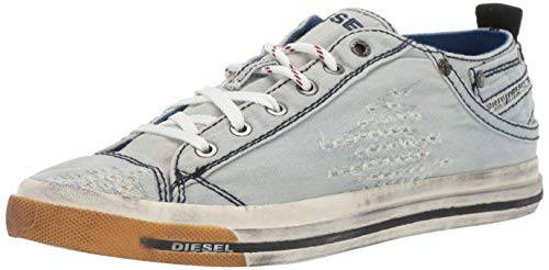 (Diesel Men's Magnete Exposure Low I-Sneakers, Indigo, 8.5 M US)