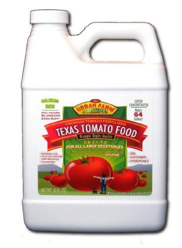 Urban Farm Fertilizers Texas Tomato Food, Competition Tomato Fertilizer, 1 quart. - Liquid Tomato