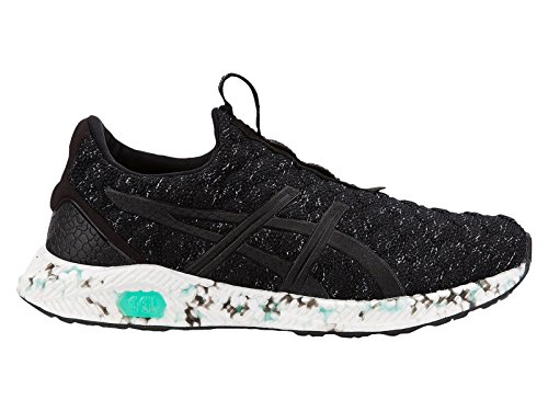 discounts cheap price ASICS Women's HyperGEL-Kenzen Nylon Running Shoes Black/Opal Green/Carbon discount official OYWwsp9v