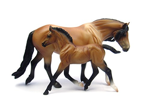 Breyer Bay Dartmoor Pony and Light Bay Foal