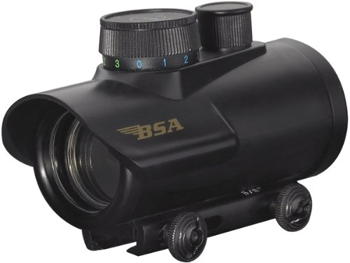 BSA Optics HMRGBD30CP Huntsman 30mm Red Dot with Illuminated Red/Green/Blue Dot Sight