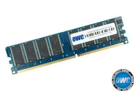 OWC / Other World Computing 1GB 333MHz 184-Pin DIMM DDR (PC-2700) Memory Upgrade Module
