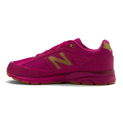 New Balance KJ990V4 Grade Running Shoe (Big Kid) Purple/purple
