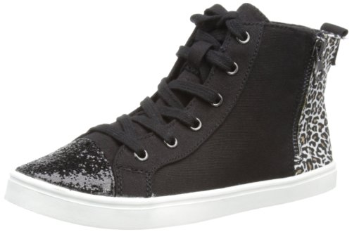 Black Baskets Noir Dean Dog canvas Sparkling Femme Mode Jungle Rocket fvqzxOn