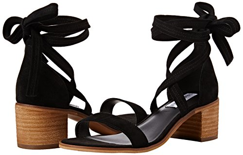 86c44d2f069 Steve Madden Women s Rizzaa Open Toe Sandals Black (Black) 5 UK  Buy Online  at Low Prices in India - Amazon.in