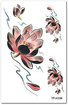 9 piezas pegatinas de tatuaje de papel Europa y América brazo de ...