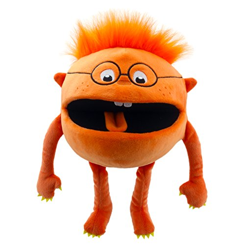 The Puppet Company Baby Mosters Orange Monster Hand Puppet ()