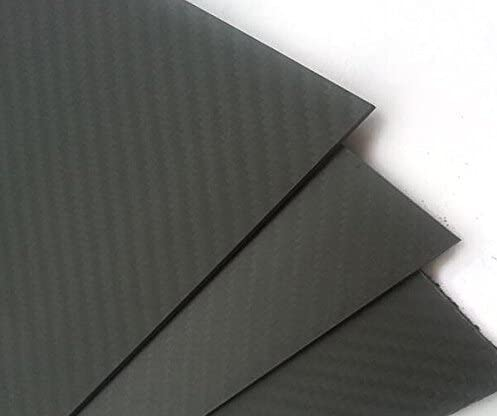 ARRIS 3Kカーボンファイバープレート400X500X1.5MM 100%炭素繊維 積層板 綾織 マット表面処理(1pcs)