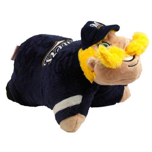 Fabrique Innovations MLB Pillow Pet, Milwaukee Brewers, Mini
