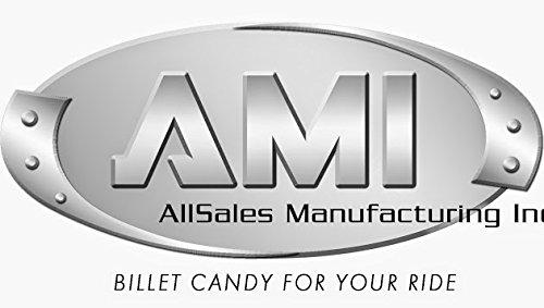 AMI 96514KP GMC'' Grille Emblem- Polished/Black Powder coat, 2 Pack ()
