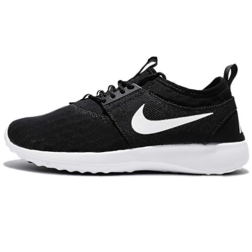 NIKE Women's Juvenate Sneaker, Black/White/Black/White, 8 B US by NIKE