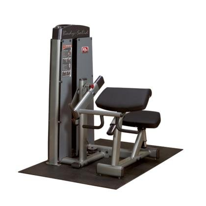 Body Solid DBTCSF ProClub Line Pro Dual Bicep/Tricep Machine with Adjustable Arm Pad and Gas-Assisted