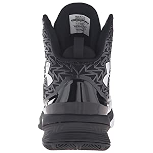 Under Armour Men's UA ClutchFit Drive 3 Basketball Shoe Black/White/White 12 D(M) US