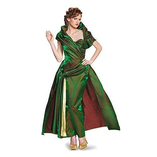Disguise Women's Lady Tremaine Movie Adult Prestige Costume, Green, X-Large