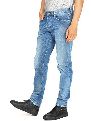 Gas 351276 Jeans Hombre Azul 38: Amazon.es: Ropa y accesorios