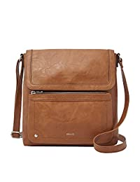 Relic by Fossil Evie Flap Crossbody Handbag, Cognac