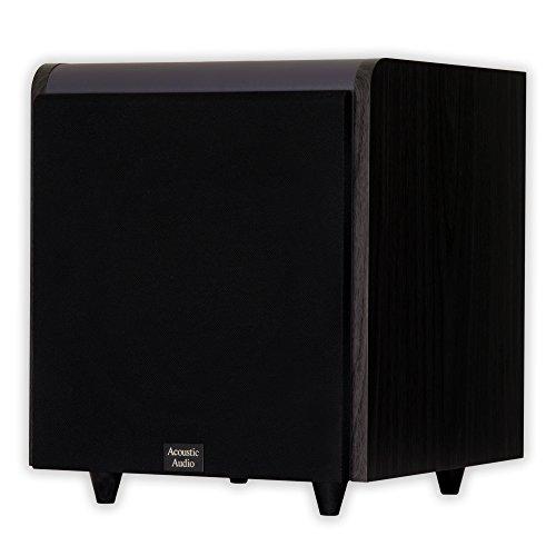 "Acoustic Audio HDSUB10-Black Home Theater Powered 10"" Sub..."