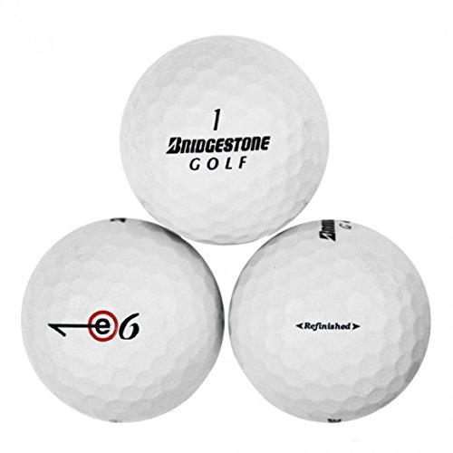(Bridgestone E6 Mint/No Logo Golf Balls - 24 Pack)