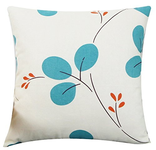 Multi-size Both Sides Leaves Throw Pillow Case Cushion Cover LivebyCare Linen Cotton Pilllowcase Pillowslip Sham Zipper For Hotel Decorative Decor Chair Sofa Couch
