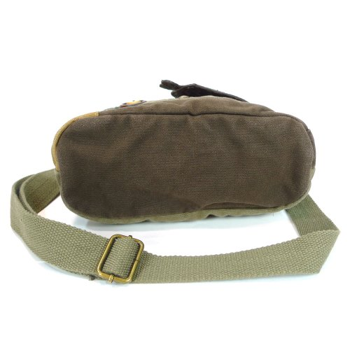 Chala LaZzy Cat Patch Canvas Cotton Messenger Bags with 6 Color Options (Olive) by CHALA (Image #6)