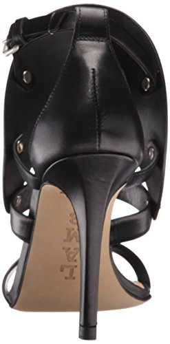 A B Gareth Sandal Dress Women's Black M L FnZqx4wRn
