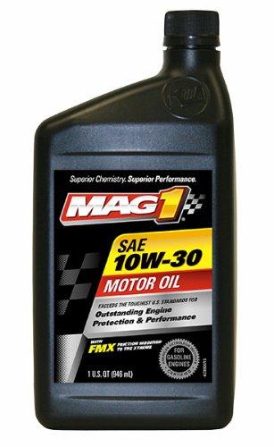 Mag 1 (61648-6PK) 10W-30 API:SN/GF-5 EC Motor Oil - 1 Quart Bottle, (Pack of 6)