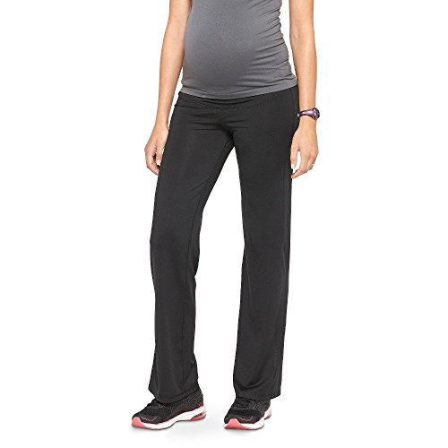 Champion C9 Maternity Under The Belly Cardio Pant (Medium, Ebony)