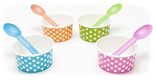 pink and blue ice cream cups - 3