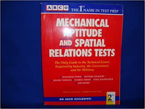 Amazon com: Mechanical Aptitude and Spatial Relations Tests
