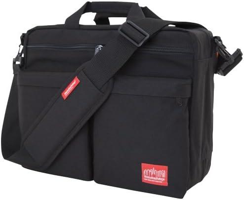 Manhattan Portage Tribeca Bag with Back Zipper, Black, One Size