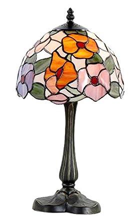 Lámpara de sobremesa, estilo Tiffany, 20 cm