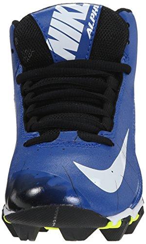 Jongens Nike Alpha Shark 2 3/4 Brede Voetbalcleat Sport Royal / Zwart / Wit