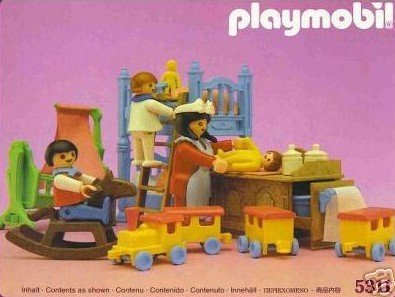 Playmobil 5311 Victorian Mansion Bedroom Nursery