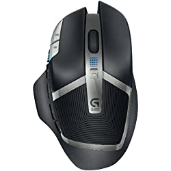 G602 Lag-Free Wireless Gaming Mouse – 11 Programmable Buttons, Up to 2500 DPI
